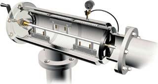 Схема сетчатого фильтра SB500