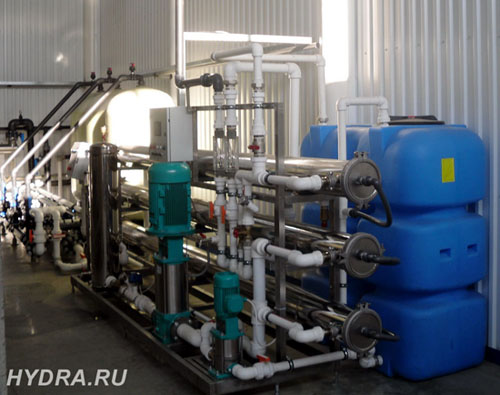 водоподготовка для промышленности