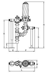 Чертеж механического фильтра очистки воды