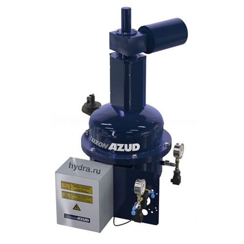 Автоматический сетчатый фильтр с гидравлическим приводом промывки AZUD LUXON LDB HF 1000