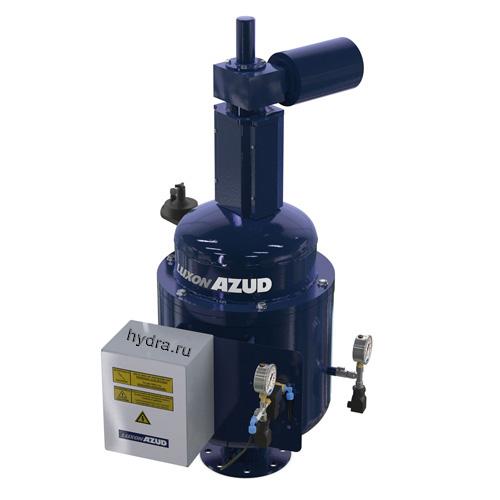 Автоматический сетчатый фильтр с гидравлическим приводом промывки AZUD LUXON LDB HF 2400
