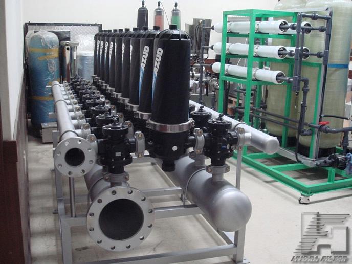 Фильтры механических примесей Azud с модулем внешней промывки