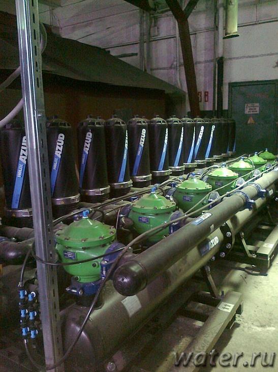 модернизация оборудования водоподготовки
