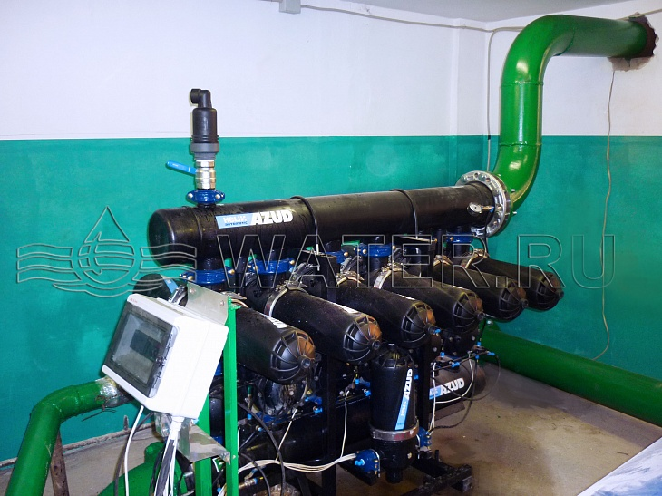 Модернизация систем водоочистки