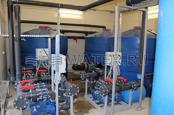 Диагностика системы очистки воды