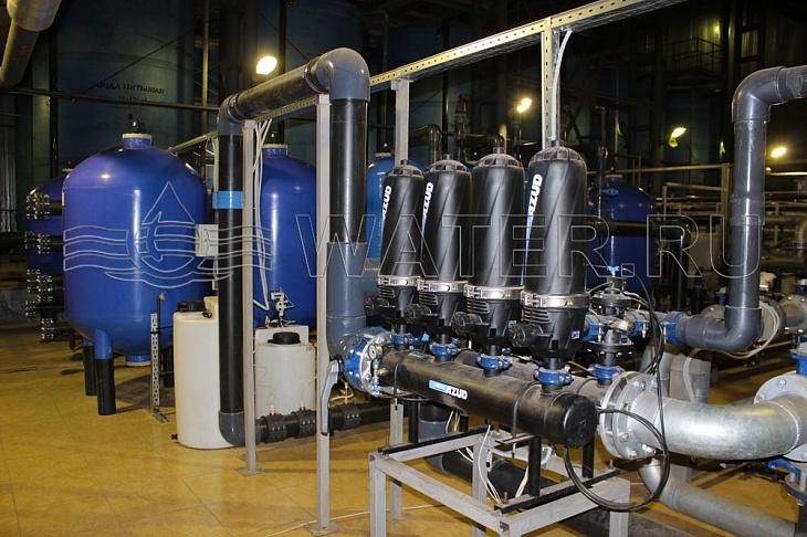 проектирование систем очистки воды