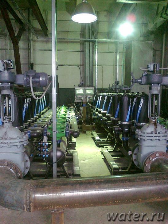 модернизация оборудования водоочистки