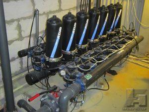Станция azud helix 207 LP (система для низкого давления). 60 м3/ч.