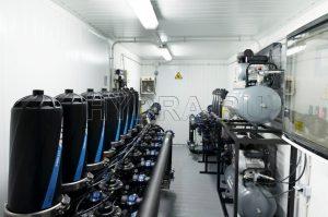 Фильтрация подпиточной воды оборотной системы (100 мкм, 80 м3/ч) и байпасная фильтрация оборотной воды (50 мкм, 110 м3/час)