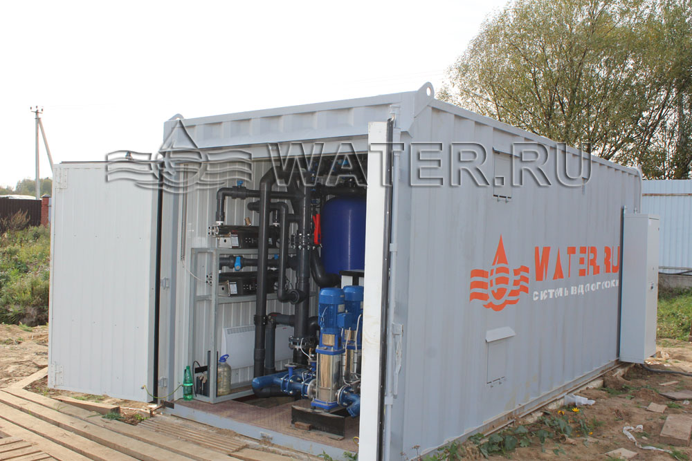 Блочно модульные станции очистки воды