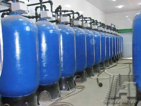 Станция очистки артезианской воды ВЗУ ВЧ 34 011. 200 м3/ч.