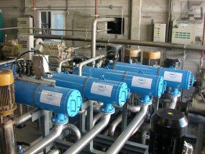 Фильтры Yamit AF 810 в комплексе системы промышленной водоподготовки