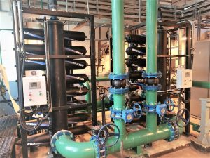 Промышленные фильтры. Дисковые фильтры azud на Рязанском нефтеперерабатывающем комбинате.